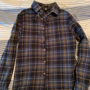 Men's Volcom Button Down Flannel